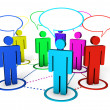 Stock Photo: Internet Community And Social Networking Concept
