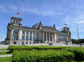 Reichstag Building Berlin — Stock Photo