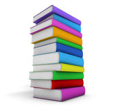 Stack Of School Books — Stockfoto