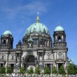 Berliner Dom On Blue Sky Berlin Cathedral — Photo