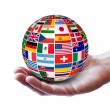 Постер, плакат: International Global Business Concept