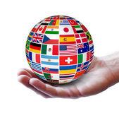 International Global Business Concept — Stock Photo