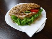 German Sandwich — Stock Photo
