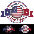 Made In The USA — Stock Vector #36821013