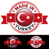 Made In Turkey — Stock Vector