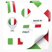 Made In Italy Collection — Stock Vector