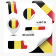 Made In Belgium Collection — Stock Vector #39581991
