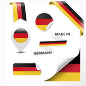Made In Germany Collection — Stock Vector