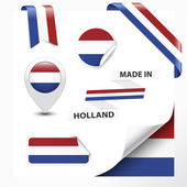 Made In Holland Collection — Stock Vector