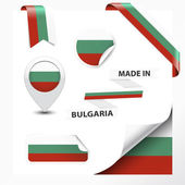 Made In Bulgaria Collection — Stock Vector
