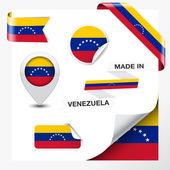 Made In Venezuela Collection — Stock Vector