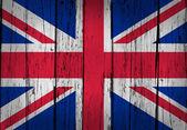 Verenigd Koninkrijk vlag grunge achtergrond — Stockfoto