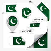 Made In Pakistan Collection — Stock Vector