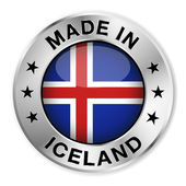 Made In Iceland — Stock Vector