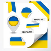 Made In Ukraine Collection — Stock Vector