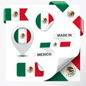 Made In Mexico Collection — Stock Vector