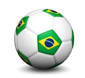 Brazil Football Soccer Ball — Stock Photo