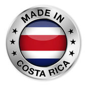 Made In Costa Rica — Stock Vector