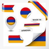 Made In Armenia Collection — Stock Vector