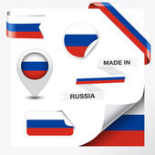 Made In Russia Collection — Stock Vector