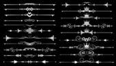 Conjunto de vectores. elementos vintage — Vector de stock