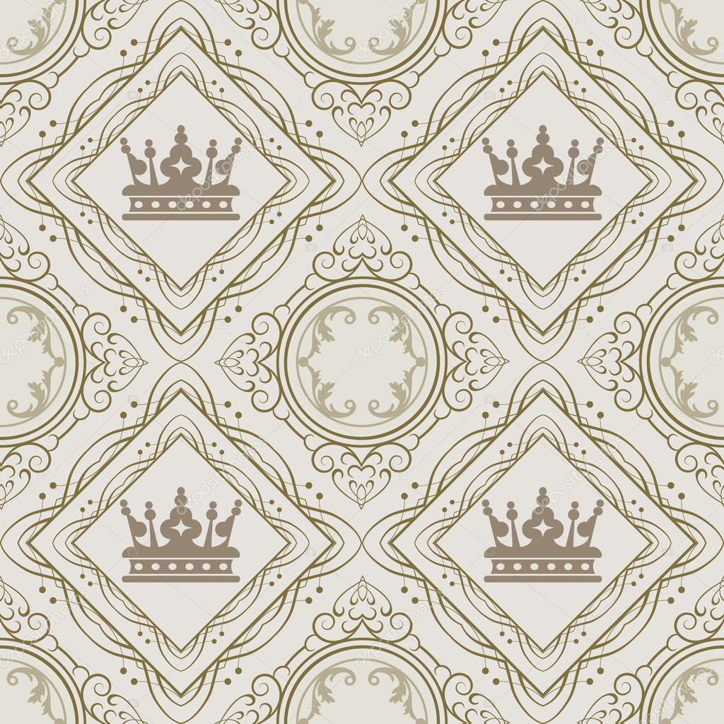 Vintage Wallpaper Pattern | Wallpapers Gallery