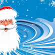 Santa Claus Christmas background - Stock Vector