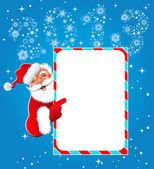 Happy new year 2013. Christmas. Santa Claus — Stock Vector