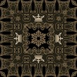 Seamless Vintage. Wallpaper Pattern. Vector - Vettoriali Stock