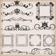Vector set. Vintage Elements for your design. — Stock Vector #12619795