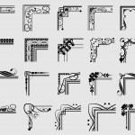 Decorative elements. Angle design. — Stock Vector #13751138