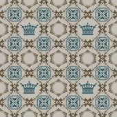 Seamless Vintage. Wallpaper Pattern. — Stock Vector