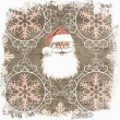 Christmas Wallpaper. Retro - Stock Photo