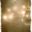 Christmas Wallpaper. Retro -  