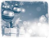 Fondo de pantalla de navidad. retro — Foto de Stock