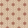 Background retro: wallpaper, pattern, seamless, vector - Векторная иллюстрация