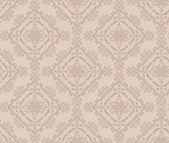 Fondo retro: papel pintado, vector inconsútil, patrón — Vector de stock