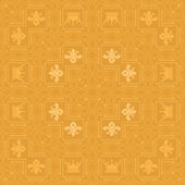 Background retro: wallpaper, pattern, seamless, vector, vintage background texture — Wektor stockowy