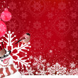 Christmas Background. Abstract Vector for your design. — Stockvektor