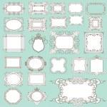 Vector set. Frame. Vintage Elements for your design. — Stock Vector #28571951
