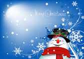 Christmas Background. Abstract Vector. — Stock Vector