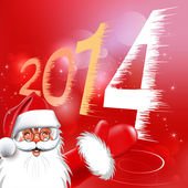 Happy new year. Christmas Background. Abstract Vector Illustration. — Stock Vector
