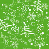 Christmas Background. Merry Christmas lettering, vector illustration for your design. — Stock Vector