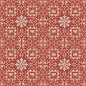 Vector background retro: wallpaper, pattern. — Stock Vector