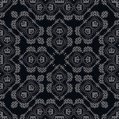 Vector background retro: wallpaper, pattern, seamless — Stockvektor