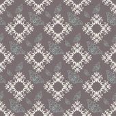 Damask decorative wallpaper for walls vector vintage seamless patterns — Vetor de Stock