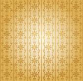 Damask decorative wallpaper. vector vintage pattern. — Stock Vector