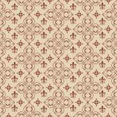 Damask decorative wallpaper for walls vintage seamless patterns — Stock Photo