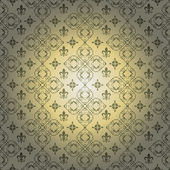 Damask decorative wallpaper. vintage patterns. — Foto Stock