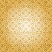 Papel de parede decorativo do damasco. vintage padrão vector. — Vetor de Stock